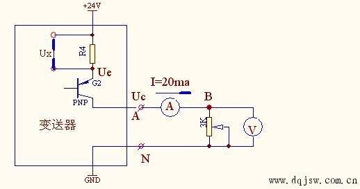 0-10v转4-20ma电路
